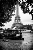 Paris sur Seine Collection - The Eiffel Tower and the Quays III Photographic Print by Philippe Hugonnard