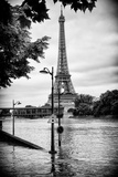 Paris sur Seine Collection - Traffic Light Panel Photographic Print by Philippe Hugonnard