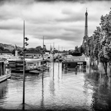 Paris sur Seine Collection - Morning on the Seine II Photographic Print by Philippe Hugonnard