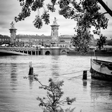 Paris sur Seine Collection - Crossing the Seine V Photographic Print by Philippe Hugonnard