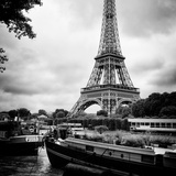 Paris sur Seine Collection - The Eiffel Tower and the Quays XII Photographic Print by Philippe Hugonnard