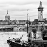 Paris sur Seine Collection - Afternoon in Paris III Photographic Print by Philippe Hugonnard