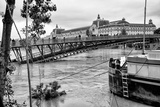 Paris sur Seine Collection - Solferino Bridge and the Musee d'Orsay Photographic Print by Philippe Hugonnard