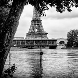 Paris sur Seine Collection - Eiffel Bridge III Photographic Print by Philippe Hugonnard