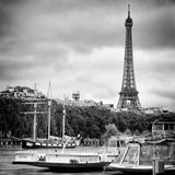 Paris sur Seine Collection - Bateaux Mouches VII Photographic Print by Philippe Hugonnard