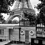 Paris sur Seine Collection - Eiffel Boat XI Photographic Print by Philippe Hugonnard