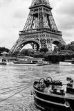 Paris sur Seine Collection - Vedettes de Paris Photographic Print by Philippe Hugonnard