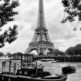 Paris sur Seine Collection - Eiffel Boat VII Photographic Print by Philippe Hugonnard