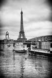 Paris sur Seine Collection - Floating Barge III Photographic Print by Philippe Hugonnard