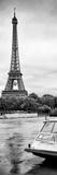 Paris sur Seine Collection - BB Boat II Fotografisk tryk af Philippe Hugonnard