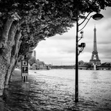 Paris sur Seine Collection - Banks of the Seine River II Photographic Print by Philippe Hugonnard