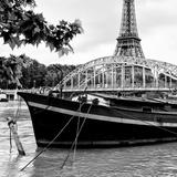Paris sur Seine Collection - Paris Bridge II Photographic Print by Philippe Hugonnard