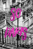Paris Fashion Series - So Paris - Stairs of Montmartre III Photographic Print by Philippe Hugonnard