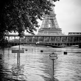 Paris sur Seine Collection - Eiffel Bridge X Photographic Print by Philippe Hugonnard