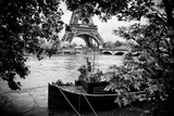 Paris sur Seine Collection - Liberty Tower IV Photographic Print by Philippe Hugonnard