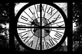 Giant Clock Window - View on Central Park West - San Remo II Photographic Print by Philippe Hugonnard