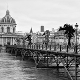 Paris sur Seine Collection - Pont des Arts V Photographic Print by Philippe Hugonnard