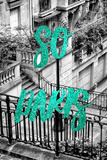 Paris Fashion Series - So Paris - Stairs of Montmartre II Photographic Print by Philippe Hugonnard