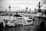 Paris sur Seine Collection - Alexandre III Bridge IV Photographic Print by Philippe Hugonnard