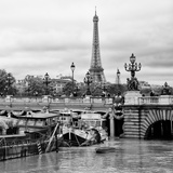 Paris sur Seine Collection - Afternoon in Paris X Photographic Print by Philippe Hugonnard