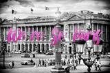 Paris Fashion Series - We're So Paris - Place de la Concorde III Photographic Print by Philippe Hugonnard