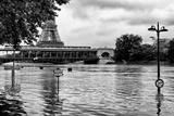 Paris sur Seine Collection - Eiffel Bridge V Photographic Print by Philippe Hugonnard