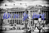 Paris Fashion Series - We're So Paris - Place de la Concorde II Photographic Print by Philippe Hugonnard