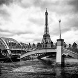 Paris sur Seine Collection - Bridge of Paris III Photographic Print by Philippe Hugonnard
