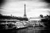 Paris sur Seine Collection - Bateaux Mouches Photographic Print by Philippe Hugonnard