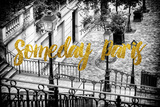 Paris Fashion Series - Someday Paris - Staircase of Montmartre Photographic Print by Philippe Hugonnard