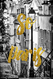Paris Fashion Series - So Paris - Montmartre Photographic Print by Philippe Hugonnard