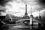 Paris sur Seine Collection - Bridge of Paris Photographic Print by Philippe Hugonnard