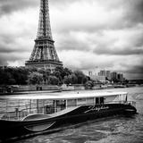 Paris sur Seine Collection - Josephine Cruise I Fotografisk tryk af Philippe Hugonnard