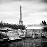 Paris sur Seine Collection - Bateaux Mouches I Photographic Print by Philippe Hugonnard