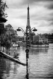 Paris sur Seine Collection - Trocadero Concorde Photographic Print by Philippe Hugonnard