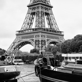 Paris sur Seine Collection - The Eiffel Tower and the Quays XIX Photographic Print by Philippe Hugonnard