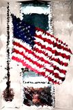 Low Poly New York Art - American Flag Art by Philippe Hugonnard