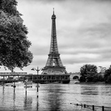 Paris sur Seine Collection - Along the Seine II Photographic Print by Philippe Hugonnard