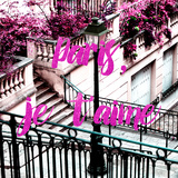Paris Fashion Series - Paris, je t'aime - Stairs of Montmartre II Photographic Print by Philippe Hugonnard