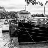 Paris sur Seine Collection - Seine Boats III Photographic Print by Philippe Hugonnard