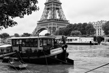 Paris sur Seine Collection - The Eiffel Tower and the Quays VI Photographic Print by Philippe Hugonnard