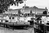 Paris sur Seine Collection - Boats before the Musee d'Orsay IV Photographic Print by Philippe Hugonnard