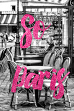 Paris Fashion Series - So Paris - Brasserie Montmartre II Photographic Print by Philippe Hugonnard