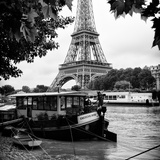 Paris sur Seine Collection - The Eiffel Tower and the Quays IV Photographic Print by Philippe Hugonnard