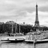 Paris sur Seine Collection - Bateaux Mouches V Photographic Print by Philippe Hugonnard