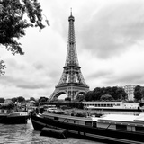Paris sur Seine Collection - The Eiffel Tower and the Quays XIV Photographic Print by Philippe Hugonnard