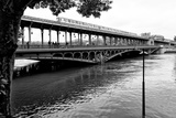 Paris sur Seine Collection - Metro Bridge Photographic Print by Philippe Hugonnard