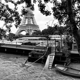 Paris sur Seine Collection - Eiffel Boat V Photographic Print by Philippe Hugonnard