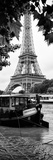 Paris sur Seine Collection - The Eiffel Tower and the Quays V Stampa fotografica di Philippe Hugonnard