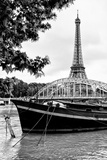 Paris sur Seine Collection - Paris Bridge Photographic Print by Philippe Hugonnard